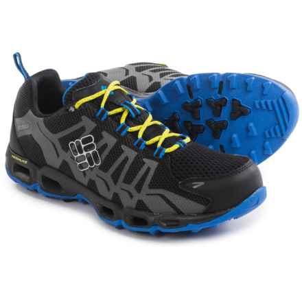Columbia Sportswear Ventrailia Trail Running Shoes (For Men) in Black/Zour - Closeouts