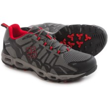 Columbia Sportswear Ventrailia Trail Running Shoes (For Men) in Charcoal/Bright Red - Closeouts