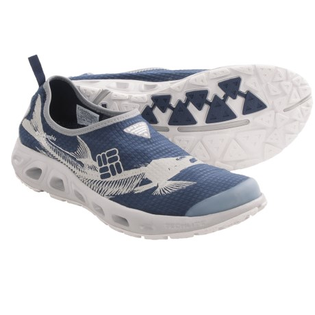 Columbia Sportswear Ventsock PFG Water Shoes (For Men) in Collegiate Navy/Cool Grey