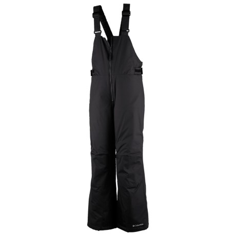 Columbia Sportswear Victory Peak ® Snow Bib Overalls - Insulated (For Girls) in Black