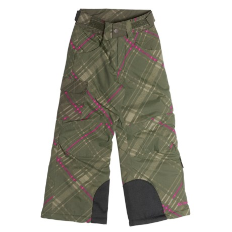 Columbia Sportswear Vintage Vista Pants - Insulated (For Girls) in Surplus Green Print
