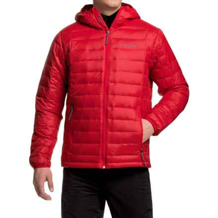 Columbia Sportswear Voodoo Falls 590 TurboDown® Jacket - 550 fill power (For Men) in Mountain Red - Closeouts