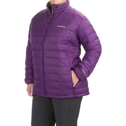 Columbia Sportswear Voodoo Falls 590 TurboDown® Jacket - 550 Fill Power (For Plus Size Women) in Iris Glow - Closeouts