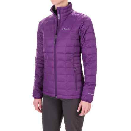 Columbia Sportswear Voodoo Falls 590 TurboDown® Jacket - 550 Fill Power (For Women) in Iris Glow - Closeouts