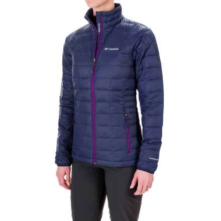Columbia Sportswear Voodoo Falls 590 TurboDown® Jacket - 550 Fill Power (For Women) in Nightshade/Bright Plum - Closeouts