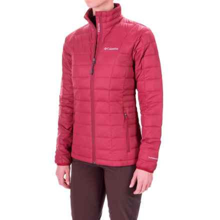 Columbia Sportswear Voodoo Falls 590 TurboDown® Jacket - 550 Fill Power (For Women) in Punch Pink - Closeouts