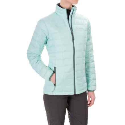 Columbia Sportswear Voodoo Falls 590 TurboDown® Jacket - 550 Fill Power (For Women) in Spray/Pond - Closeouts