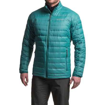 Columbia Sportswear Voodoo Falls 590 TurboDown® Jacket - 590 Fill Power (For Big Men) in Deep Water - Closeouts