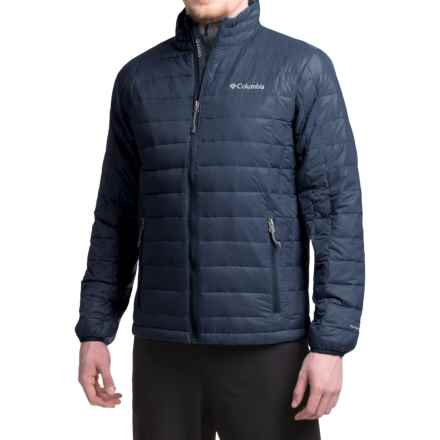 Columbia Sportswear Voodoo Falls 590 TurboDown® Omni-Heat® Jacket - 550 Fill Power (For Men) in Collegiate Navy - Closeouts