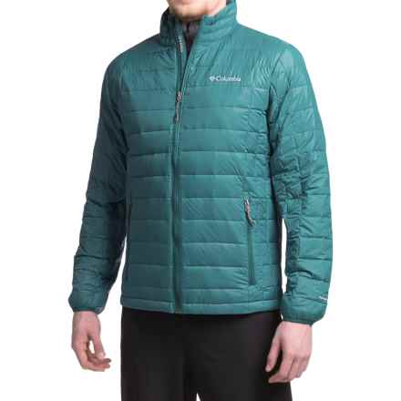Columbia Sportswear Voodoo Falls 590 TurboDown® Omni-Heat® Jacket - 550 Fill Power (For Men) in Deep Water - Closeouts