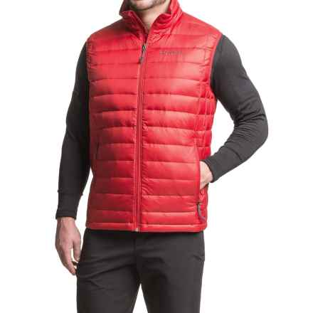 Columbia Sportswear Voodoo Falls 590 TurboDown® Vest - Insulated, 550 Fill Power (For Big Men) in Mountain Red - Closeouts