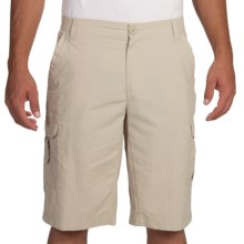 Columbia Sportswear Voyager Omni-Shield® Cargo Shorts - UPF 30 (For Men) in Fossil - Closeouts