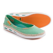 Columbia Sportswear Vulc N Vent Bettie Shoes (For Women) in Kelp/Bright Emerald - Closeouts