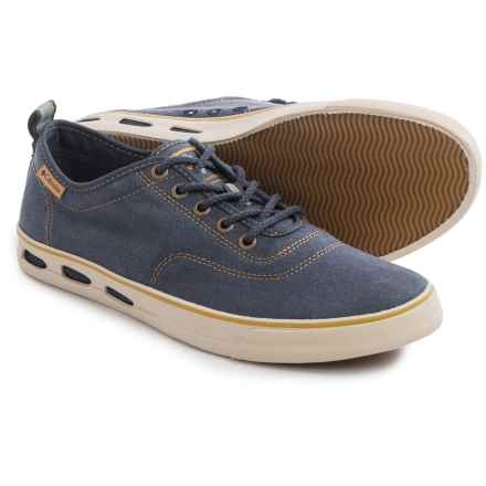 Columbia Sportswear Vulc N Vent Canvas Shoes (For Men) in Nocturnal/Dark Banana - Closeouts