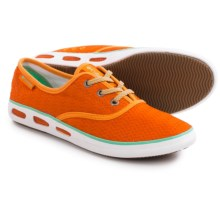 Columbia Sportswear Vulc N Vent Lace Canvas II Shoes (For Women) in Heatwave/Kelp - Closeouts