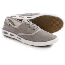 Columbia Sportswear Vulc N Vent Lace Canvas II Shoes (For Women) in Light Grey/Sea Salt - Closeouts