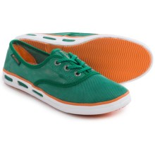 Columbia Sportswear Vulc N Vent Lace Mesh Water Shoes (For Women) in Bright Emerald/Jupiter - Closeouts