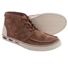 Columbia Sportswear Vulc N Vent Leather Chukka Boots (For Men) in Tobacco/Stone - Closeouts