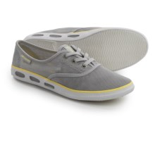 Columbia Sportswear Vulc N Vent Mesh Water Shoes - Lace-Ups (For Women) in Oyster/Sunnyside - Closeouts