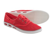 Columbia Sportswear Vulc N Vent Mesh Water Shoes - Lace-Ups (For Women) in Red Hibiscus/Cool Grey - Closeouts