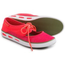 Columbia Sportswear Vulc N Vent Peep Toe Water Shoes (For Women) in Laser Red/Cool Moss - Closeouts