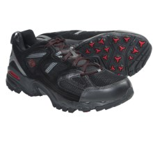 Columbia Sportswear WallaWalla 2 Omni-Tech® Low Trail Shoes - Waterproof (For Men) in Black/Chili - Closeouts