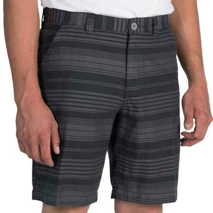 Columbia Sportswear Washed Out II Novelty Shorts (For Men) in Shark/Stripe - Closeouts