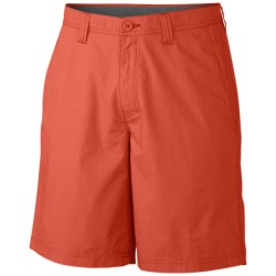 Columbia Sportswear Washed Out Shorts (For Men) in Cinnabar