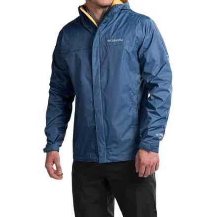 Columbia Sportswear Watertight II Omni-Tech® Jacket - Waterproof (For Men) in Night Tide - Closeouts