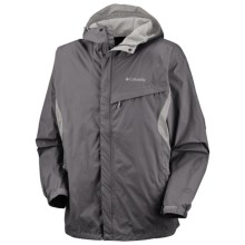 Columbia Sportswear Watertight Omni-Tech® Jacket - Waterproof (For Big and Tall Men) in 030 Charcoal - Closeouts