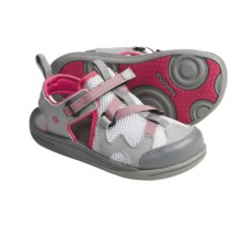 Columbia Sportswear Watu 3 Sport Sandals (For Kids) in Wild Dove/Raspberry - Closeouts