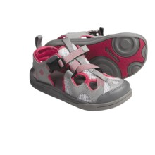 Columbia Sportswear Watu 3 Sport Sandals (For Youth) in Wild Dove/Raspberry - Closeouts