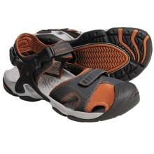 Columbia Sportswear Watu D2 Sport Sandals (For Men) in Coal/Cedar - Closeouts
