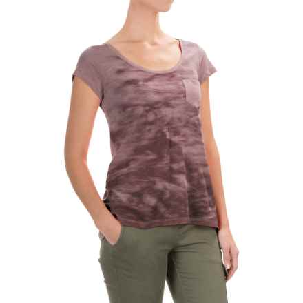 Columbia Sportswear Waves Pocket T-Shirt - Short Sleeve (For Women) in Sparrow - Closeouts