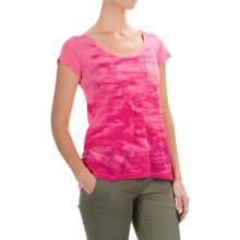 Columbia Sportswear Waves Pocket T-Shirt - Short Sleeve (For Women) in Tropic Pink - Closeouts