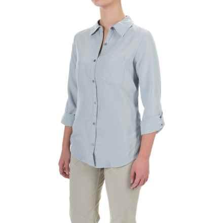 Columbia Sportswear Wayfarer TENCEL® Shirt - Button Front, Long Sleeve (For Women) in Light Indigo - Closeouts