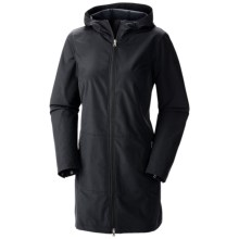 Columbia Sportswear Weekday Wanderer Soft Shell Jacket (For Women) in Black - Closeouts