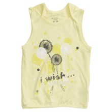 Columbia Sportswear Weekend Wisher T-Shirt - Sleeveless (For Youth Girls) in Lemon Mist - Closeouts