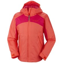 Columbia Sportswear Wet Reflect Jacket - Waterproof, Hooded (For Toddlers) in Zing - Closeouts