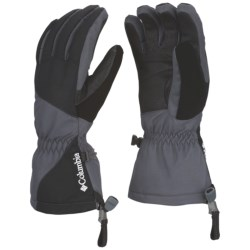 Columbia Sportswear Whilibird Omni-Heat® Gloves - Waterproof, Insulated (For Women) in Black/Grill