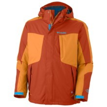 Columbia Sportswear Whirlibird II Interchange Omni-Heat® Jacket - Insulated, 3-In-1 (For Men) in Autumn Orange - Closeouts