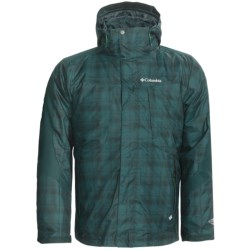 Columbia Sportswear Whirlibird II Interchange Omni-Heat® Jacket - Insulated, 3-In-1 (For Men) in Blue Forest Plaid
