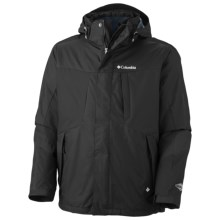 Columbia Sportswear Whirlibird II Interchange Omni-Heat® Jacket - Insulated, 3-in-1 (For Tall Men) in Black - Closeouts