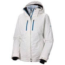 Columbia Sportswear Whirlibird Interchange Omni-Heat®-Omni-Tech® Ski Jacket - 3-in-1 (For Women) in Sea Salt - Closeouts