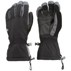 Columbia Sportswear Whirlibird Omni-Heat® Gloves - Waterproof, Insulated (For Men) in Black