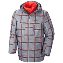 Columbia Sportswear Whirlibird Omni-Heat® Interchange Jacket - 3-in-1 (For Big and Tall Men) in Tradewinds Grey Print - Closeouts