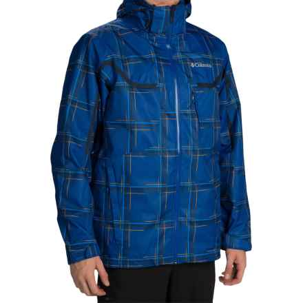 Columbia Sportswear Whirlibird Omni-Heat® Interchange Jacket - 3-in-1, Waterproof, Insulated (For Men) in Azul Blue Print - Closeouts