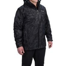 Columbia Sportswear Whirlibird Omni-Heat® Interchange Jacket - 3-in-1, Waterproof, Insulated (For Men) in Black Camo/Black - Closeouts