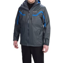 Columbia Sportswear Whirlibird Omni-Heat® Interchange Jacket - 3-in-1, Waterproof, Insulated (For Men) in Graphite/Graphite - Closeouts