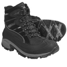 Columbia Sportswear Whitefield Winter Boots - Waterproof (For Men) in Black/Light Grey - Closeouts